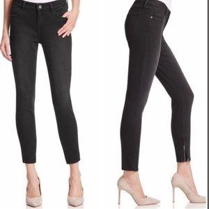 Pistola   Anais Skinny Ankle Zip Jeans Black Sz 26